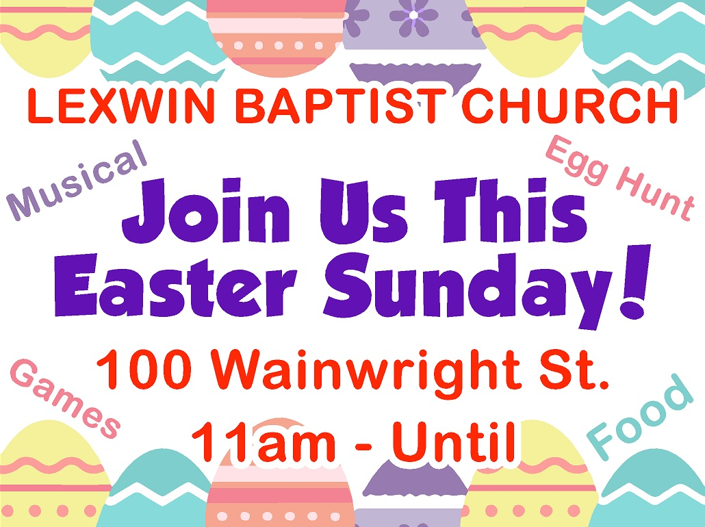 Easter Service Poster